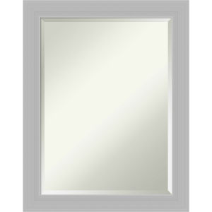 Silver 22W X 28H-Inch Bathroom Vanity Wall Mirror