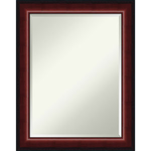 Mahogany 23W X 29H-Inch Bathroom Vanity Wall Mirror