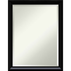 Steinway Black 21W X 27H-Inch Bathroom Vanity Wall Mirror