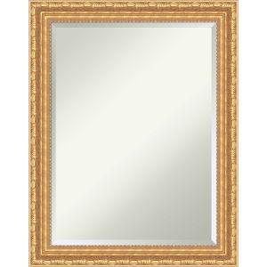 Versailles Gold 22W X 28H-Inch Bathroom Vanity Wall Mirror