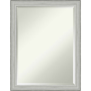 Bel Silver 21W X 27H-Inch Bathroom Vanity Wall Mirror
