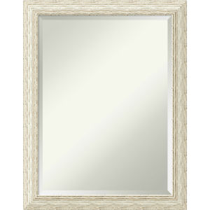 Cape White 21W X 27H-Inch Bathroom Vanity Wall Mirror