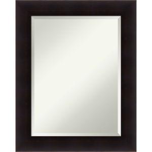Portico Espresso 24W X 30H-Inch Bathroom Vanity Wall Mirror