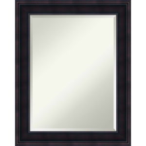 Annatto Mahogany 23W X 29H-Inch Bathroom Vanity Wall Mirror