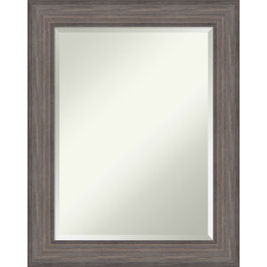 Country Gray 23W X 29H-Inch Bathroom Vanity Wall Mirror