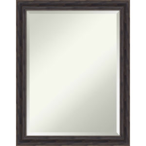 Brown 21W X 27H-Inch Bathroom Vanity Wall Mirror