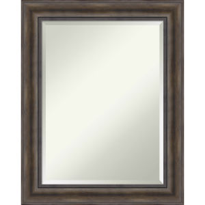 Brown 23W X 29H-Inch Bathroom Vanity Wall Mirror