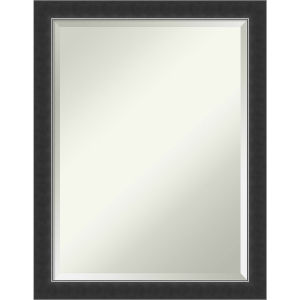 Corvino Black 21W X 27H-Inch Bathroom Vanity Wall Mirror