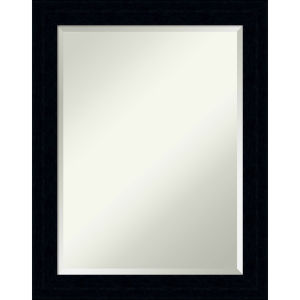 Tribeca Black 22W X 28H-Inch Bathroom Vanity Wall Mirror