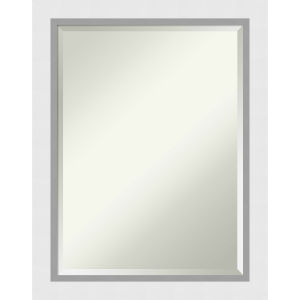 Blanco White 22W X 28H-Inch Bathroom Vanity Wall Mirror