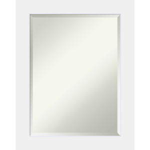 Corvino White 23W X 29H-Inch Bathroom Vanity Wall Mirror