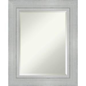 Romano Silver 25W X 31H-Inch Bathroom Vanity Wall Mirror