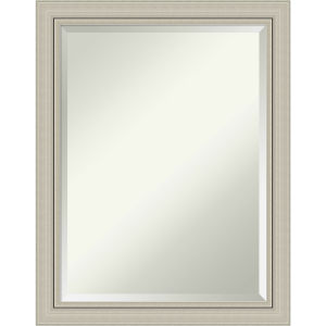 Romano Silver 22W X 28H-Inch Bathroom Vanity Wall Mirror
