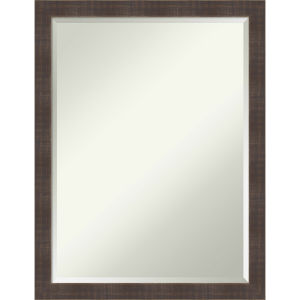 Whiskey Brown 20W X 26H-Inch Bathroom Vanity Wall Mirror