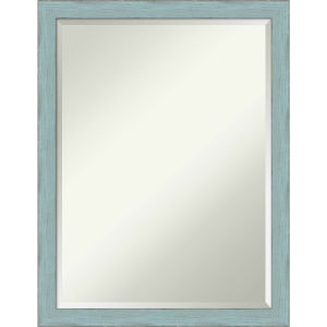 Sky Blue and Gray 20W X 26H-Inch Bathroom Vanity Wall Mirror