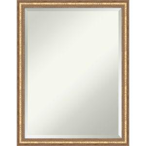 Fluted Champagne 20W X 26H-Inch Bathroom Vanity Wall Mirror