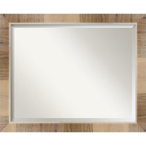 Brown 32-Inch Wall Mirror