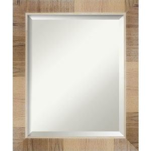 Brown 20-Inch Wall Mirror