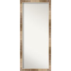 Brown 28-Inch Floor Mirror