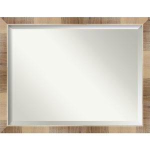 Brown 44-Inch Bathroom Wall Mirror