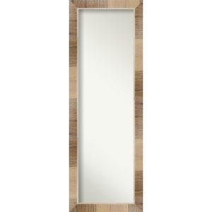 Brown 18-Inch Full Length Mirror