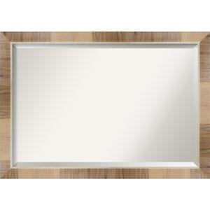 Brown 40-Inch Bathroom Wall Mirror