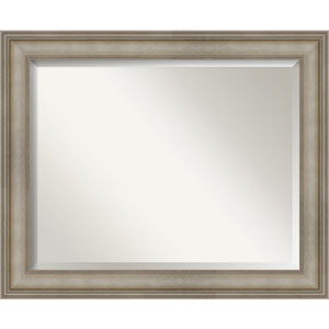 Mezzanine Silver 33-Inch Wall Mirror