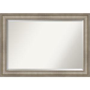 Mezzanine Antique Silver 41-Inch Bathroom Wall Mirror