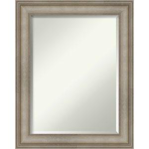 Mezzanine Silver 23-Inch Wall Mirror