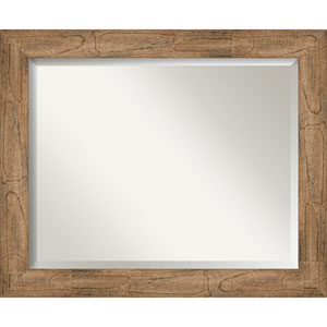 Owl Brown 33-Inch Wall Mirror