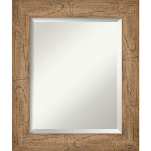 Owl Brown 21-Inch Wall Mirror