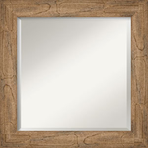 Owl Brown 25-Inch Wall Mirror