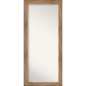 Brown 29-Inch Floor Mirror