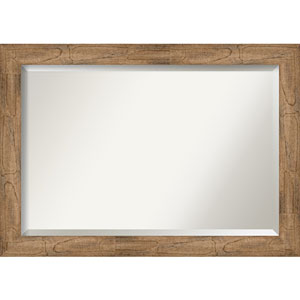 Owl Brown 41-Inch Wall Mirror