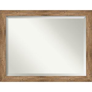 Owl Brown 45-Inch Bathroom Wall Mirror