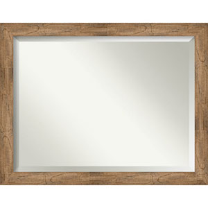 Owl Brown 45-Inch Wall Mirror