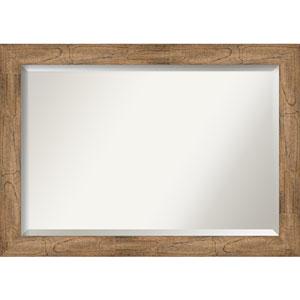Owl Brown 41-Inch Bathroom Wall Mirror