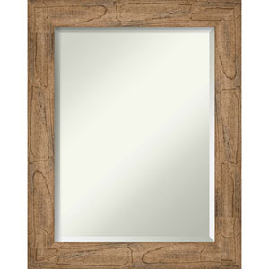Owl Brown 23-Inch Wall Mirror