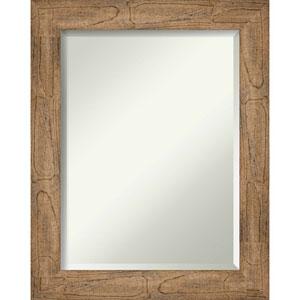 Owl Brown 23-Inch Bathroom Wall Mirror