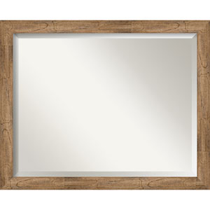 Owl Brown 31-Inch Wall Mirror