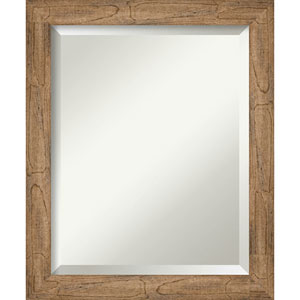 Owl Brown 19-Inch Wall Mirror