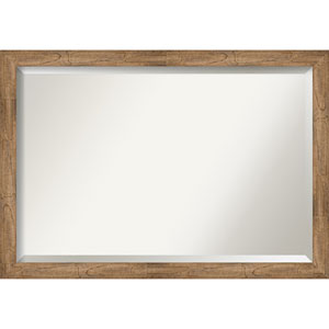 Owl Brown 39-Inch Wall Mirror