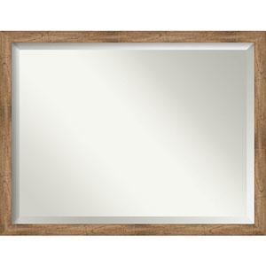 Owl Brown 43-Inch Bathroom Wall Mirror