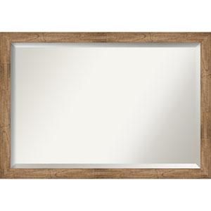 Owl Brown 39-Inch Bathroom Wall Mirror