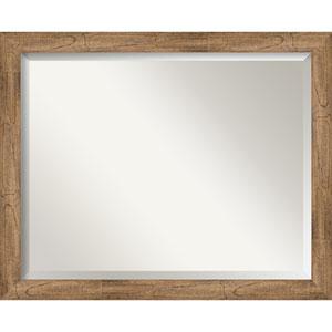 Owl Brown 31-Inch Bathroom Wall Mirror