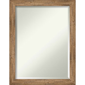 Owl Brown 21-Inch Narrow Wall Mirror