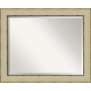 Cream 33-Inch Wall Mirror