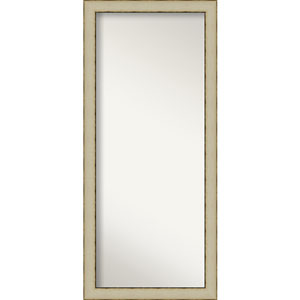 Cream 29-Inch Floor Mirror