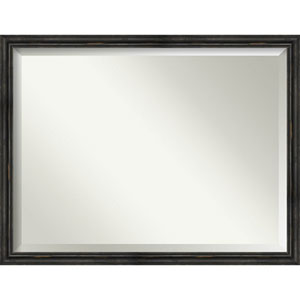 Black 43-Inch Bathroom Wall Mirror