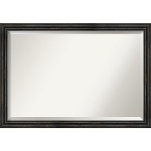 Black 39-Inch Bathroom Wall Mirror